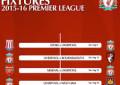 Jadwal Lengkap Liga Inggris 2015/2016
