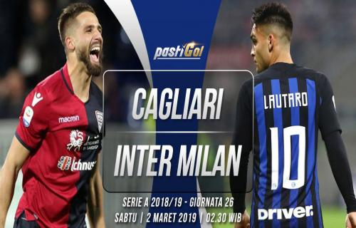 Prediksi Pertandingan Cagliari vs Milan Sabtu 02 Maret 2019