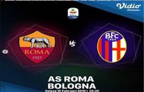 AS Roma vs bologna, di Francesco akan merebut posisi ke-4 dari AC Milan