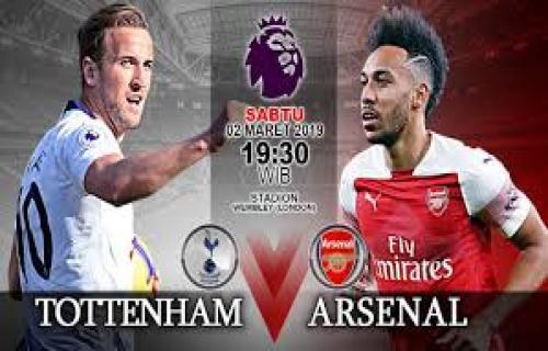 Siaran Langasung Liga Inggris Totteham Vs Arsenal