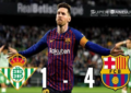 Hat-trick Messi Luar Biasa saat Melawan Real Betis