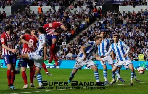 Morata Menangkan Atletico atas Sociedad
