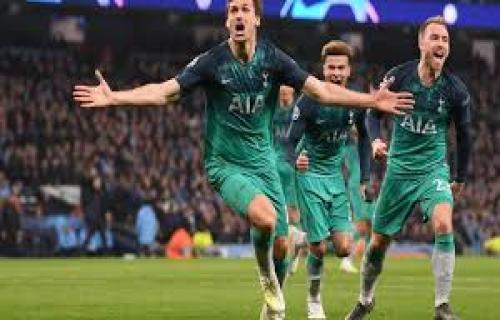 Manchester City tersingkir,Tottenham masuk ke semifinal