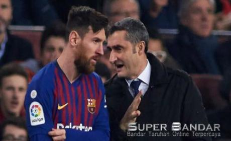 Ernesto Valverde Belum Berhasil Membawa Barcelona Menang Di La Liga