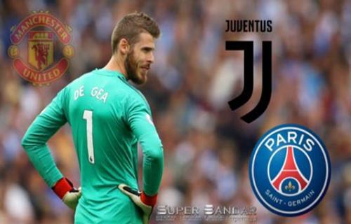 David de Gea Di Pantau Juventus Akibat Kontrak dengan Manchester United