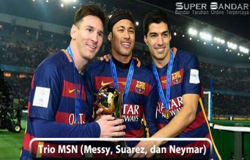 Neymar Rindu Bermain Bersama dengan Messi dan Luis