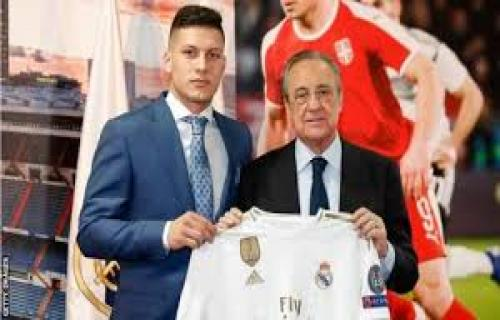 Luka Jovic ingin lebih pandai saat bermain dengan Real Madrid