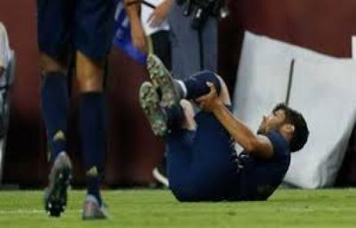 Asensio cedera lutut dan di perkirakan akan absen dalam waktu lama