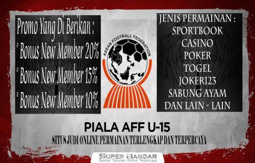Jadwal Pertandingan Timnas Indonesia U-15 di Piala AFF 2019