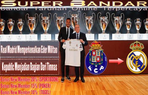 Real Madrid Memperkenalkan Eder Militao Kepublic Menjadian Bagian Dari Timnas
