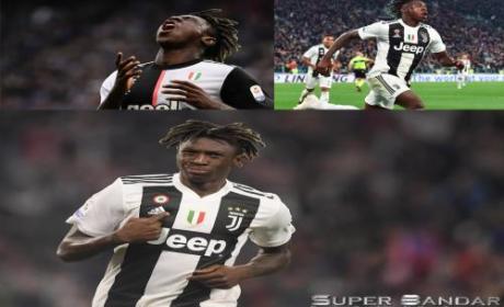Everton Telah Positif Mendapatkan Moise Kean dari Juventus