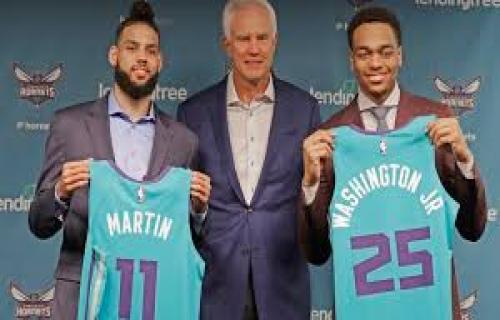 Charlotte Hornets merekrut pemain kembar