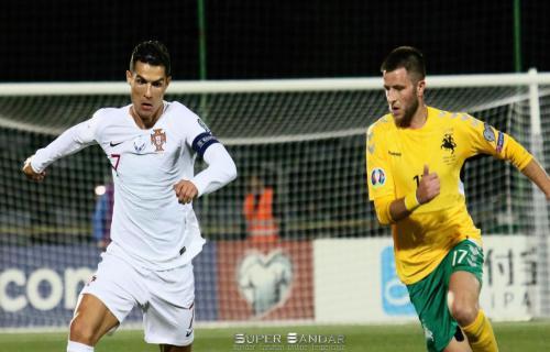 Kwalifikasi Piala Eropa 2020: 4 Gol Ronaldo Beri warna Kemenangan Portugal atas Lithuania