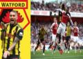 Match Watford vs Arsenal : Pierre-Emerick Aubameyang