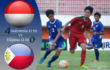 Hasil Laga Pertandingan Antara Filipina U-16 versus Indonesia U-16