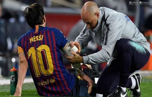 Lionel Messi Kembali Cedera Setelah Menghadapi Borussia Dortmund